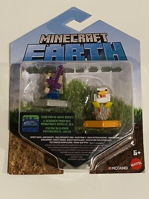 Minecraft Earth Boost Mini Figure 2 Pack - New in box