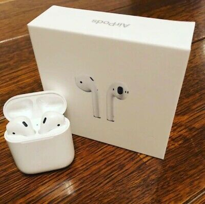 Airpods 2nd Generation with Charging Case NEW Sealed In Box
