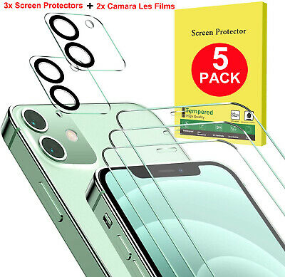 Tempered Glass Screen Protector - Camera Lens Film For iPhone 12 Pro Max Mini 12
