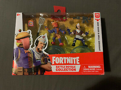 Fortnite Battle Royale Collection Beef Boss - Grill Sergeant 052 053 Epic Games