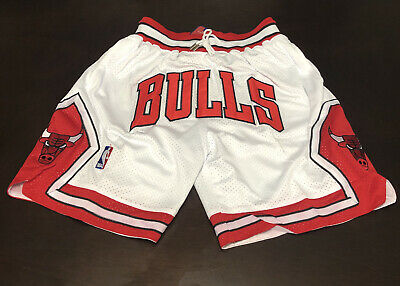 JustDon MITCHELL AND NESS VINTAGE NBA FINALS 1997 CHICAGO BULLS SHORTS