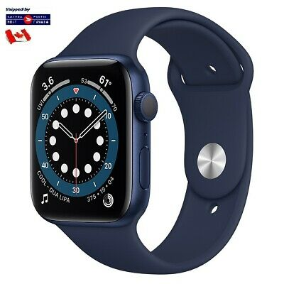 For Apple Watch Band Replacement Silicone Blue 4244 SM Series 1 2 3 4 5 6