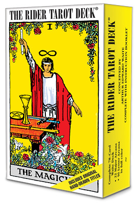 Rider Waite ORIGINAL Tarot Card Cards Deck 78 Cards REGULAR size - Instructions