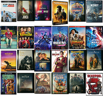 You PICK DVD Movies Lot 2020 BRAND NEW - FREE SHIPPING