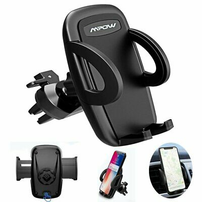 Mpow Universal 360° Rotatable Car Air Vent Mount Cell Phone Holder Cradle Stand