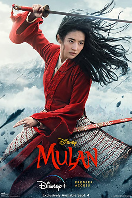 MULAN DVD 2020 - BRAND NEW  FREE SHIPPING WITH TRACKING