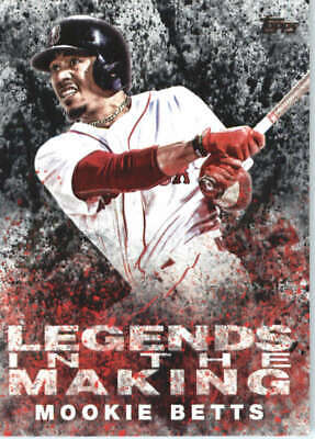 Mookie Betts 2018 Topps Legends in the Making LTM-MB Red Sox ID20824