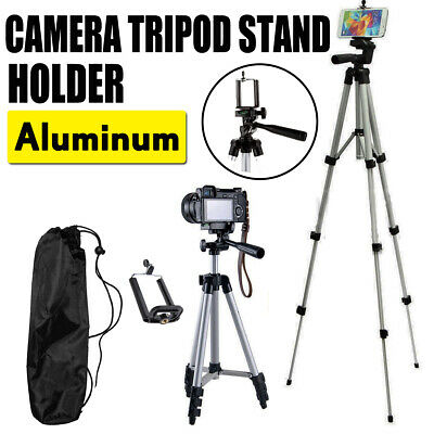 Professional Camera Phone Holder Tripod Stand for Smartphone iPhone Samsung- Bag