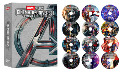 MARVEL STUDIOS CINEMATIC UNIVERSE 23-MOVIE COLLECTION 12-Disc DVD Set