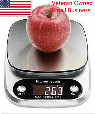 DigItal Kitchen Food Scale Multifunction Capacity 22lbs10kg-Batteries Include