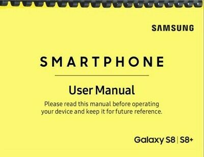 Samsung Galaxy S8 S8- AT-T OWNERS USER MANUAL