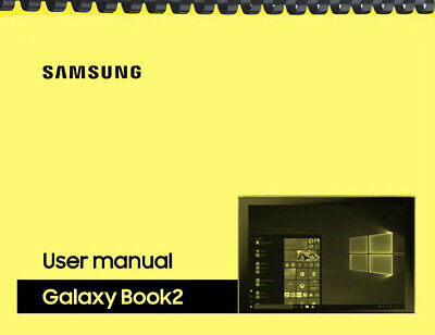 Samsung Galaxy Book 2 Tablet AT-T OWNERS USER MANUAL