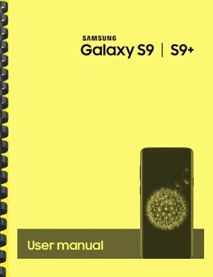 Samsung Galaxy S9 S9- T-Mobile OWNERS USER MANUAL