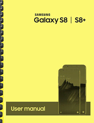 Samsung Galaxy S8 S8- T-Mobile OWNERS USER MANUAL