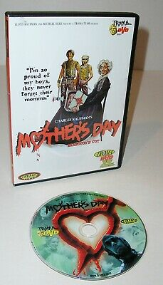 Mothers Day - Directors Cut - a 1980 Slasher Horror film DVD 2000 Used