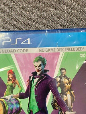 Fortnite The Last Laugh Bundle - Sony Playstation 4 PS4  DC Joker CODE- NO DISC