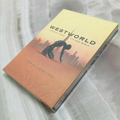 Westworld Season 3 3-Discs DVD Region 1 Brand New - Sealed Free Shipping US