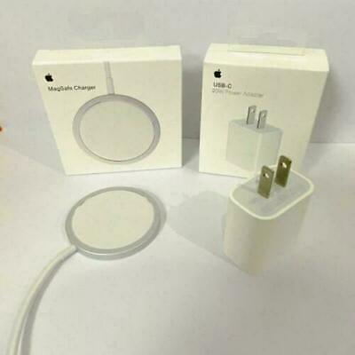 Wireless Mag Safe Power Charger Magnetic Charging Adapter For iPhone 12 Pro Max