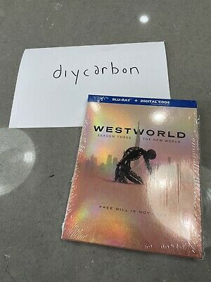 Westworld Season Three The New World Blu-Ray 2020 - NO DIGITAL - S3