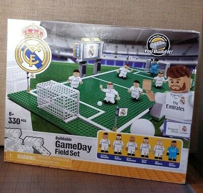 REAL MADRID SOCCER - Buildable GameDay Field Set - Oyó  - You Build It