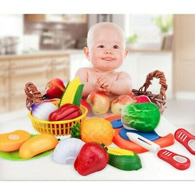 Toys Vegetables Fruits Childrens Kitchen Plastic Vegetables Educational Toys