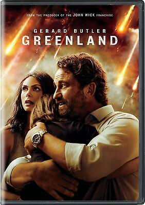Greenland DVD 2021 BRAND NEW - FREE SHIPPING TO THE US