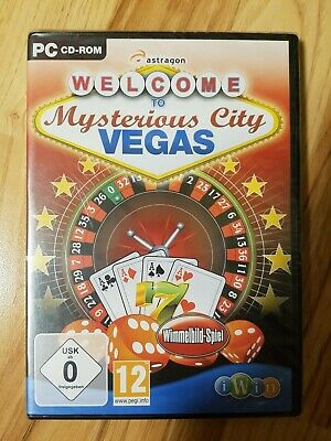PC Spiel CD Rom - Welcome to Mysterious City Vegas Neu & OVP