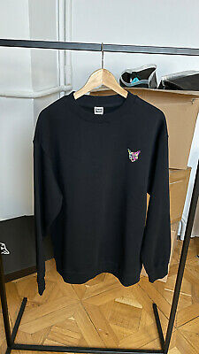 PARI 2.0 CREWNECK CAT BLACK SIZE XL