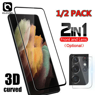 For Samsung Galaxy S21PlusUltra 5G Camera LensTempered Glass Screen Protector