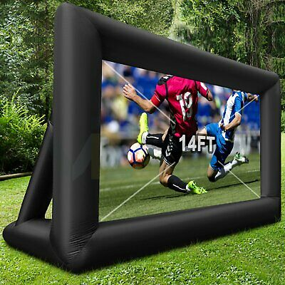 Inflatable Blow Up Mega Movie Projector ScreenOutdoor Projection Theater System
