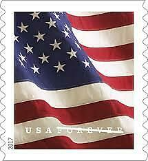 2017 USPS Forever Flag Stamps Coil of 100 stamps SEALED SELF ADHESIVES STAMPS