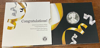 2021 W American Proof Eagle Congratulations Set (21RF) In Stock and Shipping