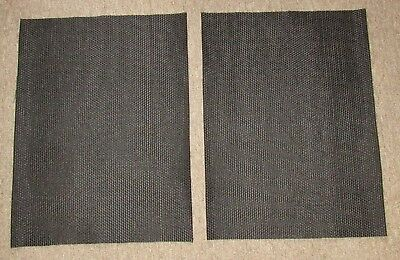 New Speaker Fabric Grill Cloth Black for Klipsch Heresy Speakers PAIR