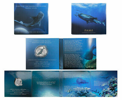 2021 Solomon Islands Giants of Galapagos Whale Shark 1 oz Silver $2 PL