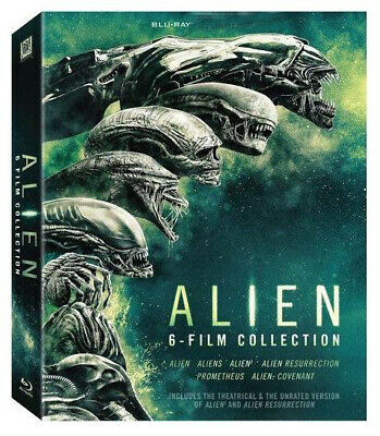 Alien - Alien 6-Film Collection New Blu-ray Boxed Set Sealed New Region 1 US
