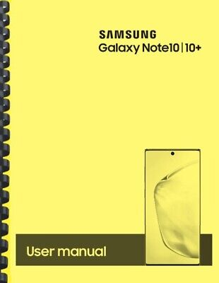 Samsung Galaxy Note 10 10- T-Mobile OWNERS USER MANUAL