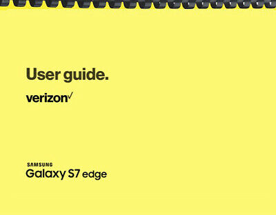 Samsung Galaxy S7 Edge Verizon OWNERS USER MANUAL