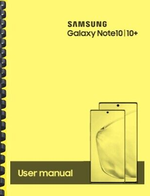 Samsung Galaxy Note 10 10- AT-T OWNERS USER MANUAL