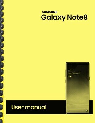 Samsung Galaxy Note 8 Verizon OWNERS USER MANUAL