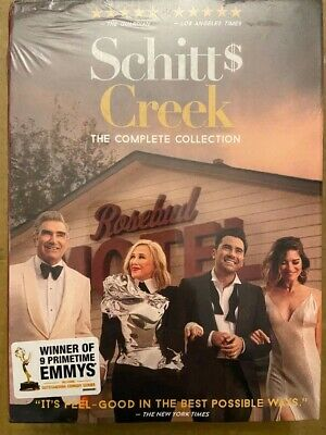 Schitts Creek The Complete Collection DVD 2020 15-Disc Set
