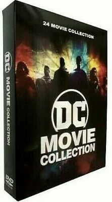 DC Movie Collection 12-Disc DVD 24-Film Collection New - Sealed FREE Shipping