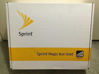 Sprint Magic Box Gold Signal Booster Amplifier New Open Box