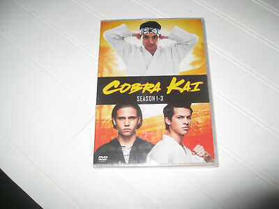 BRAND NEW SEALED COBRA KAI SEASONS 1-3 123 DVD FREE SHIPPING