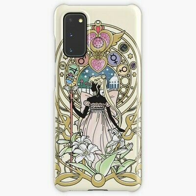 Crystal Serenity Phone Case For Samsung Galaxy S 8 9 10 20 Plus Sailormoon