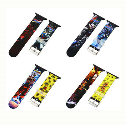 38424044mm Color Painting Strap Sport Band For Apple Watch Series 6 5 4 3-1