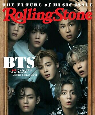 ROLLING STONE MAGAZINE - JUNE 2021 - BTS - PRE ORDERS - BRAND NEW