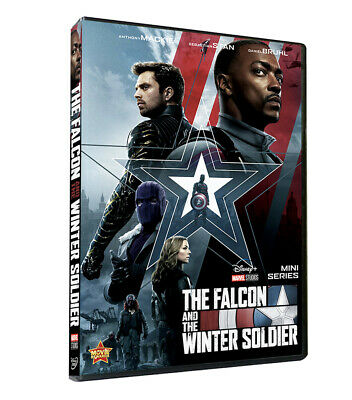 The Falcon and the Winter Soldier Seasons 12-Disc Set Brand New free shipping