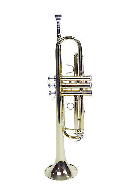 LeVar LV100 Student Trumpet with Case and Silver Plated Mouthpiece