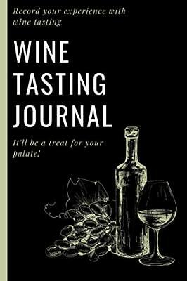 Wine Tasting Journal Wine Log  Record Your experienc- by Ge- Press EightIdd
