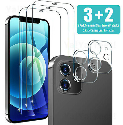For iPhone 12 11 Pro Max Mini Tempered Glass Screen Protector Camera Lens Cover